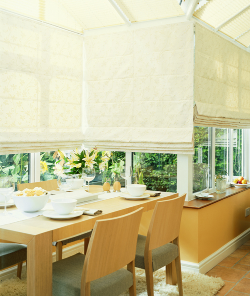 Roman Blinds In Luton Peartree Blinds